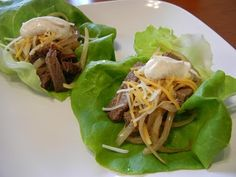 Leftover tri-tip repurposed into Lettuce Cup Tri Tip Tacos. #weightlossmotivation