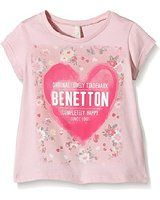United Colors of Benetton Girl's 3096C11QY T-Shirt