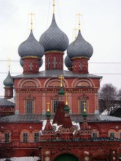 Resurrection Church in Kostroma, Russia; part of Russia's 'Golden Ring'; photo taken in August 2005 by Ghirlandajo