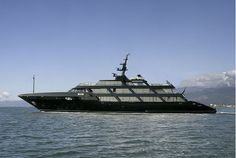 Giorgio Armani's Yacht, Black Mamba -  Seatech Marine Products / Daily Watermakers