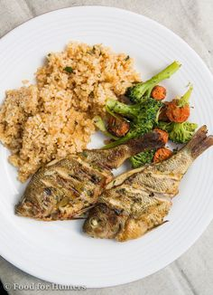 FoodForHunters.com : Garlic and Lime Grilled Whole Bluegill