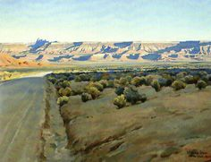 Untitled by Maynard Dixon on Curiator, the world's biggest collaborative art collection. Vintage Landscape, Landscape Art, Landscape Paintings, Landscapes, Desert Landscape, Maynard Dixon, Southwestern Art, Portraits, Paintings I Love