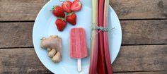 Maak je eigen fruitijs: Rabarber & Gember