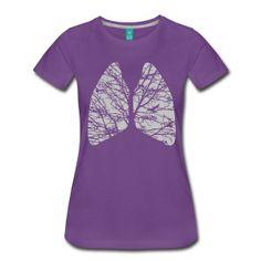 lungs Women's T-Shirts
