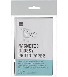 magnetisch fotopaper 10x15cm - HEMA