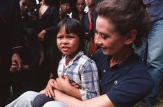 The most rewarding job of Audrey Hepburn's career was as UNICEF's Goodwill Ambassador for which she earned $1 a year. Audrey Hepburn, UNICEF's Goodwill Ambassador, holds a small girl while visiting a small village close to Hanoi, Vietnam, October 1,...