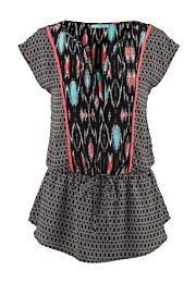 chiffon v-neck tied waist top - maurices.com ...oh so cute