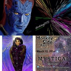 MYSTICAL was the word drawn by 'Monkey Side Bars' members for Wednesday, March 12th