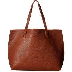 Gabriella Rocha Bridget Reversible Tote (Camel/Coral) Tote Handbags ($40) ❤ liked on Polyvore featuring bags, handbags, tote bags, tan, coral tote bag, handbags purses, hand bags, brown tote handbags and structured tote