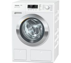 MIELE WKR771 Washing Machine - White, White: Top features: - Make noticeable savings on your utility bills with… #Electrical #HomeAppliances