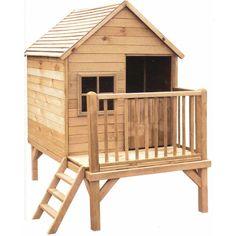 Casas de madera para ni os planos buscar con google - Casitas de madera leroy merlin ...