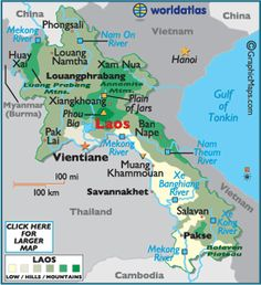 Rich in Buddhist traditions and beliefs, the ancient landlocked land called Laos is located in southeast Asia....