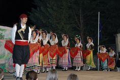 """Μουσικοχορευτικό Συγκρότημα Ιστιαίας Αθανάσιος Κορφιάτης - το χορευτικό """" Λαοδάμας """" από την Κέρκυρα"""