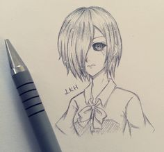 tokyo ghoul pencil drawing - Google Search