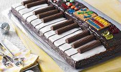 Piano-Kuchen mit Duplo!