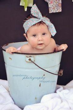 Idea baby photography
