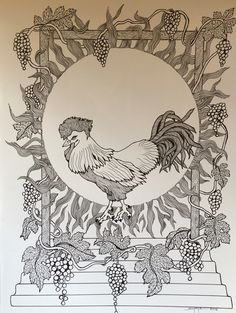 """Quatrain 3 if Rubaiyat Of Omar Khayyam: and as the cock crew, those who stood before the tavern shouted- """"Open the door! You know how little while we have to stay, and, once departed, may return no more. Something new I am working on illustrating.."""
