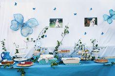 Communiefeest deel 2: thema vlinder - Feestprints