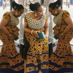 African clothing : Simple Ankara Skirt and Blouse Styles .African clothing : Simple Ankara Skirt and Blouse Styles African Fashion Ankara, Latest African Fashion Dresses, African Print Dresses, African Print Fashion, African Wear, African Women, Nigerian Fashion, Ankara Long Gown Styles, Ankara Styles For Men