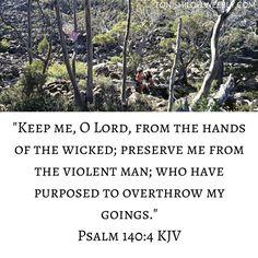 Psalm 140:4 KJV