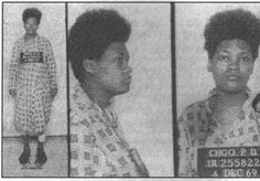 These booking photos of Akua Njeri – then Deborah Johnson – were taken the day of the assassination of her husband, Chairman Fred Hampton, and 25 days before the birth of Chairman Fred Hampton Jr.