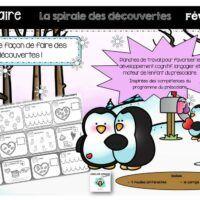 Préscolaire-spirale des découvertes-Caroline Gingras-Créations Creations, Nutrition, Boutique, Comics, Products, Cartoons, Comic, Boutiques, Comics And Cartoons