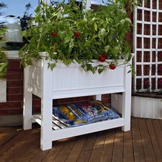 Beautify her outdoor space with our New England Cambridge Raised Planter from Central! She'll be able to grow perfect flowers and vegetables with less weeding, flower pests and no soil compacting. Strong and durable, it will never need to be painted or stained. Easy to assemble, it's waiting at your nearest Central!