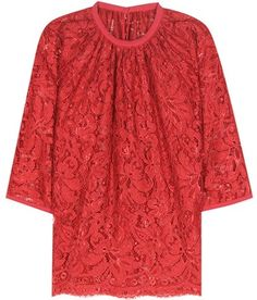 Red Lace Blouse By Dolce & Gabbana $1,475 At MyTheresa Dolce & Gabbana red lace blouse https://api.shopstyle.com/action/apiVisitRetailer?id=619799864&pid=uid841-37799971-81