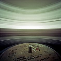 Pinhole camera + spinning vinyl by Tim Franco - This is one of the coolest photos I've ever seen... really.