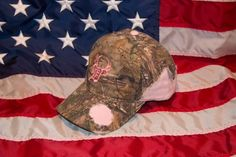 Pink & Tattered Hat