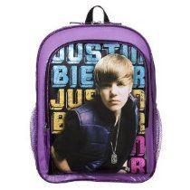 "Justin Bieber ""My World"" Backpack - $29.99"
