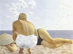 We are professional Alex Colville supplier and manufacturer in China.We can produce Alex Colville according to your requirements.More types of Alex Colville wanted,please contact us right now! Alex Colville, Canadian Painters, Canadian Artists, Couple Beach, Couple Art, Tempera, Art Gallery Of Ontario, 24. August, Magic Realism