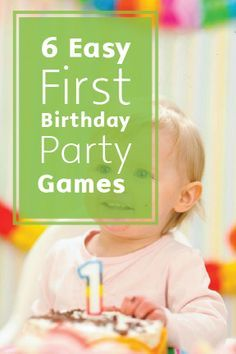 First Birthday Party Games For Kids