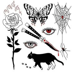 Tattoo Sketches, Tattoo Drawings, Art Sketches, Art Drawings, Tattoo Dotwork, Arm Tattoo, Catrina Tattoo, Geometric Tatto, Spooky Tattoos