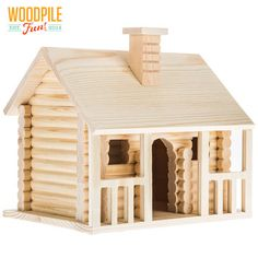 3 Fun And Easy DIY Woodworking Projects That You Can Complete This Weekend Woodworking Projects Diy, Woodworking Plans, Craft Projects, Craft Stick Crafts, Wood Crafts, Christmas Crafts, Bird Houses Painted, Wood Houses, Stone Houses