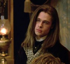 Brad Pitt as Louis de Pointe du Lac, Interview With The Vampire, 1994