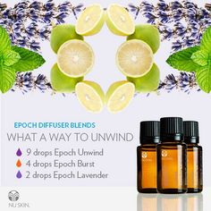 Epoch Diffuser Blends What a Way to Unwind