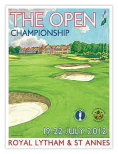 2012 Open Championship at Royal Lytham & St Annes