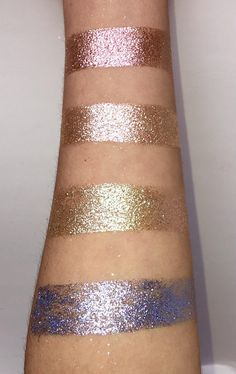 loose glitter pigment bundle of 4 loose eyeshadow vegan Glitter Pigment, Pigment Eyeshadow, Glitter Eyeshadow, Loose Pigments, Pigment Powder, Loose Glitter, Twinkle Twinkle, Cuff Bracelets, Trending Outfits