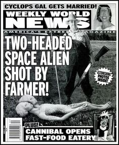 weekly world news tabloid - Google Search