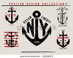 Sailor Design Collection by grafiz, via ShutterStock