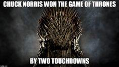 Chuck Norris Game Of Thrones