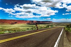 """30 Reasons Why You Need a Longboard in Your Life. """"Longboarding gives you the motivation to explore the world around you in a way that you never have before. Image Photography, Life Photography, Dinosaur Games, The Good Dinosaur, Longboarding, Punk, Roadtrip, Go Outside, More Pictures"""