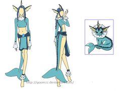 vaporeon costume - Google Search