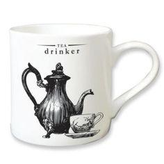 Victoriana Porcelain Mug - Tea Drinker <3