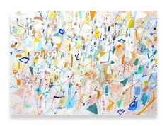 "Saatchi Art Artist: Sarah Giannobile; Acrylic 2014 Painting ""Montmartre"""