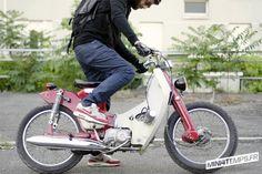 Honda cub tracker streetcub paris  LuckyBoy39