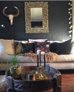 """1,332 gilla-markeringar, 16 kommentarer - Vibeke J Dyremyhr (@interior_delux) på Instagram: """"FAB  Love the ethnic details   @sissigal #livingroom #ethnic #stue #interior_delux"""""""