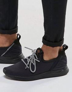 949d3c35a44e7 adidas Originals ZX Flux ADV Sneakers In Black B49404