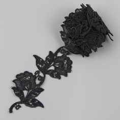 2 Yards Black Rose Flower Lace Venice Applique Sewing Trims S10508-in Lace from Home & Garden on Aliexpress.com | Alibaba Group